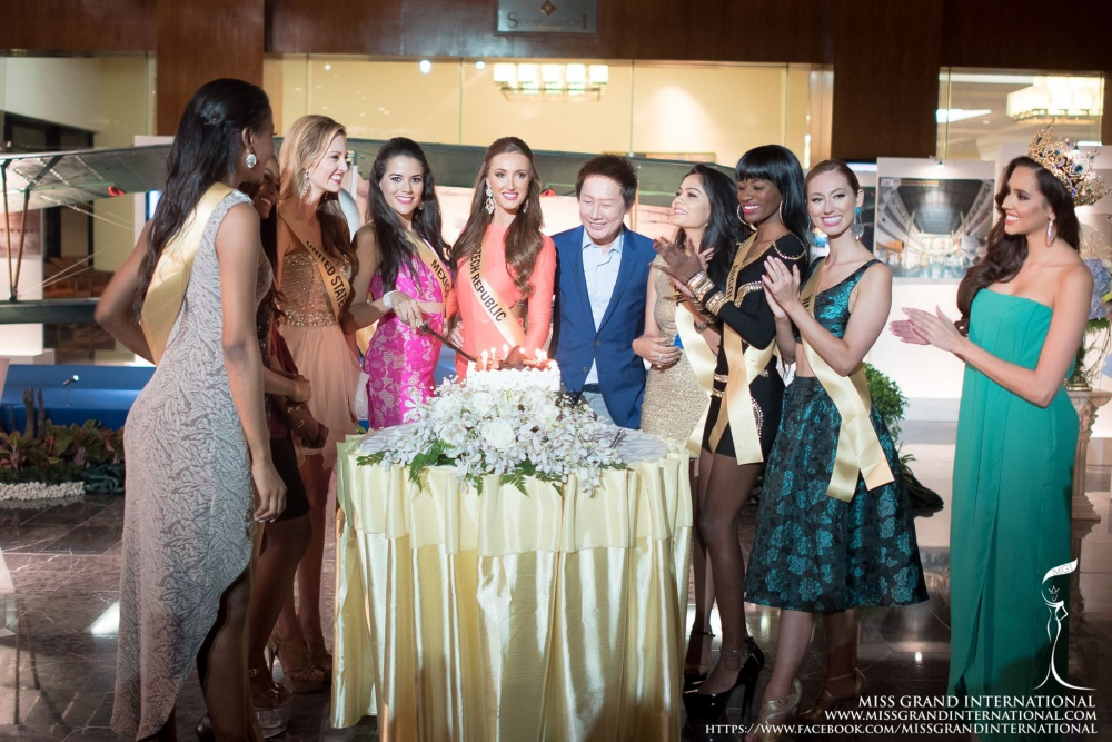 Surprise Birthday party for The contestants of MGI2015