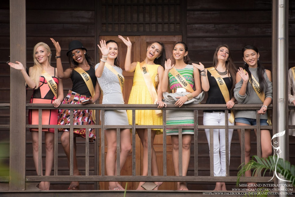 The Contestants of MGI2015 Visit The Trat Province Museum #1