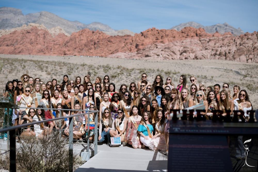 Miss Grand International 2016 - Red Rock Canyon National Conservation
