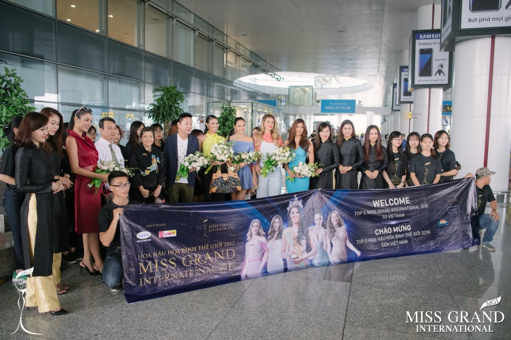 TOP 5 MGI 2016 DEPARTURE&ARRIVAL IN VIETNAM