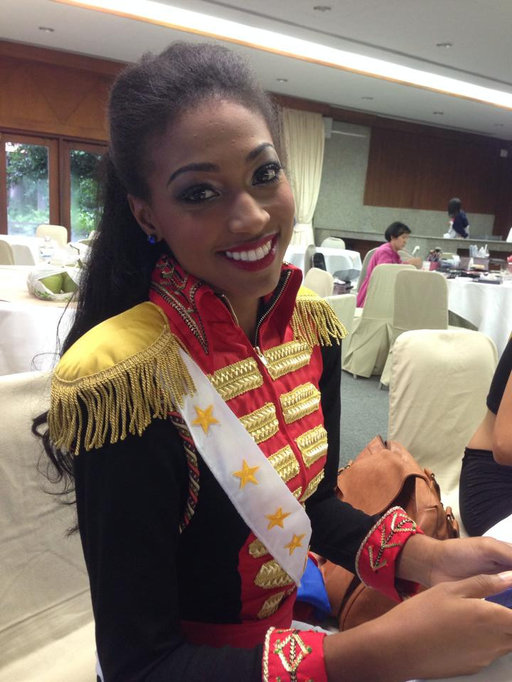 Miss Grand International 2014 Contestants Ready for Best National Costume Competition